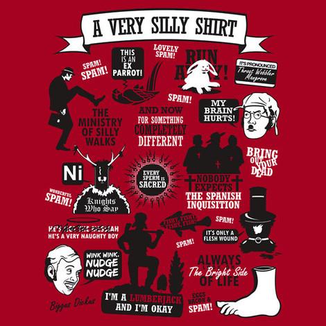 Friends Series Quotes Wallpaper Monty Python T Shirts Killer Rabbit T Shirt Silly Walks