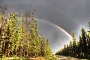 Double Wabasso rainbow
