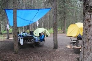 Our new camp site