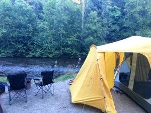 Elk falls provincial park Quinsam campground