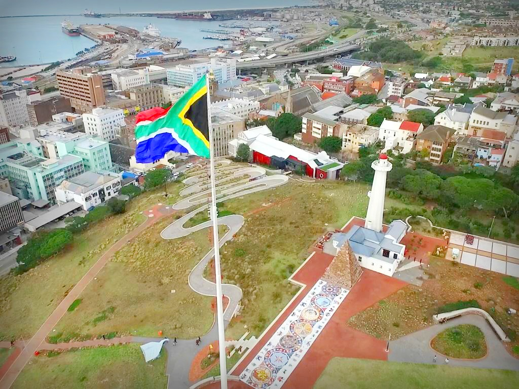 Largest flag in Africa