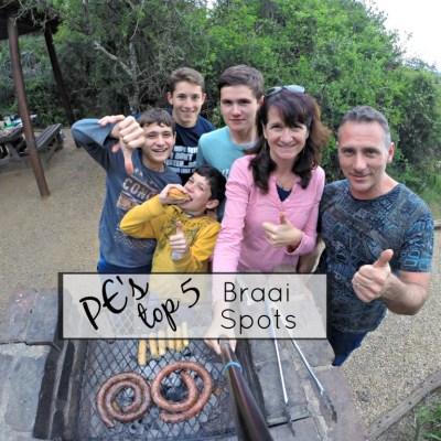 Port Elizabeth top 5 braai spots