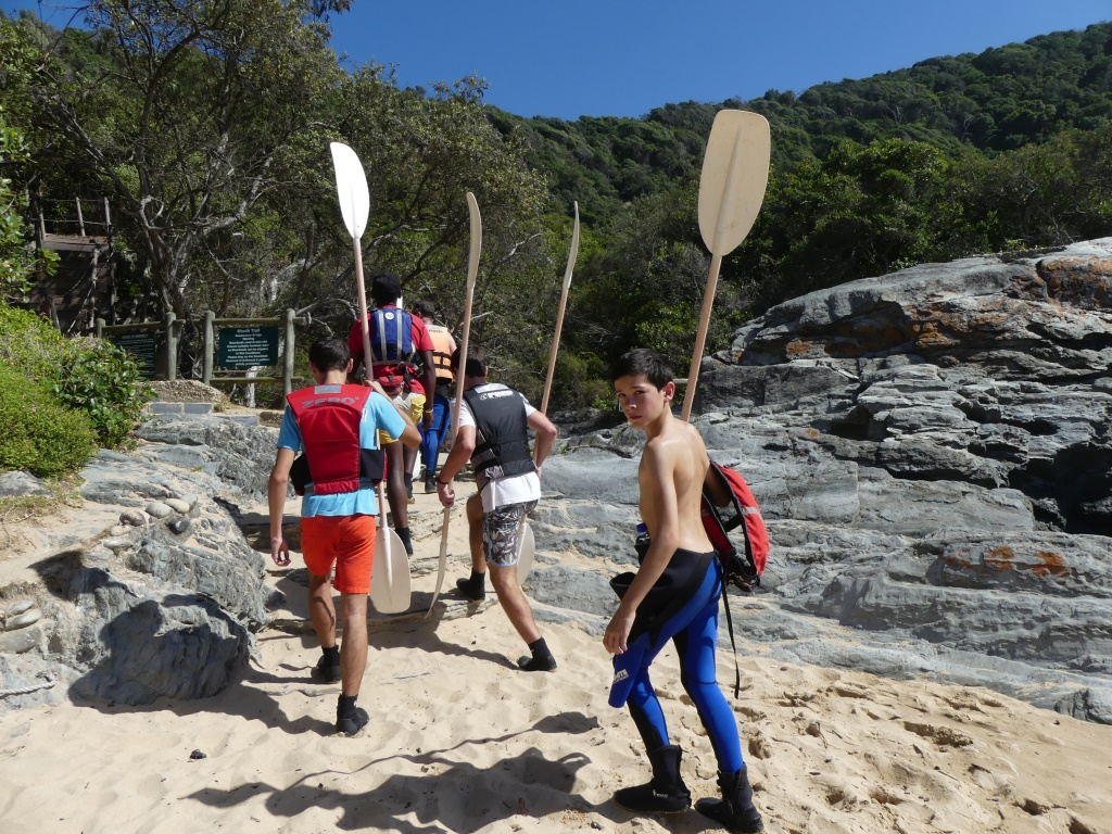 Storms River Kayak Lilo Adventure