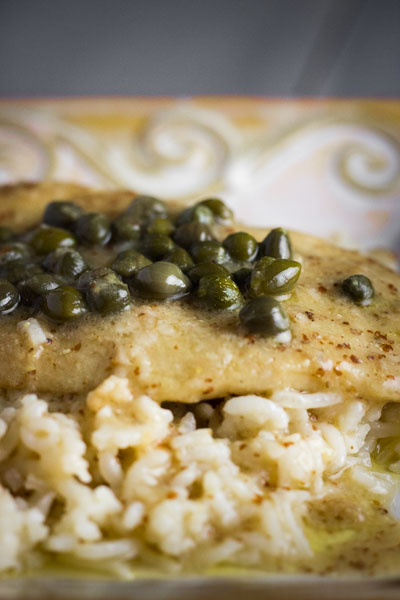 Chicken in White Wine with Dijon & Capers