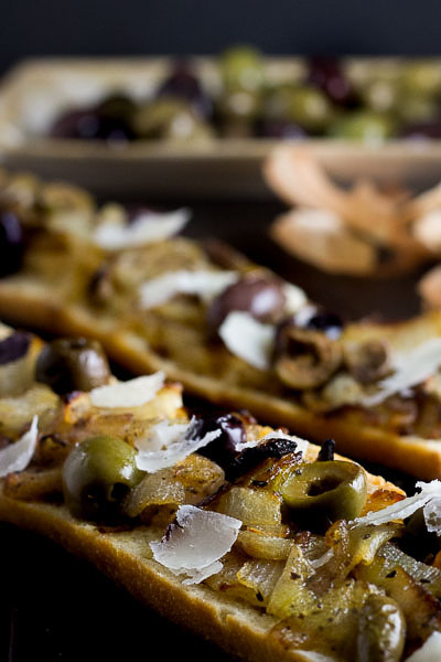 Caramelized Onion & Olive Appetizer