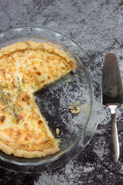 Savory French Leek Tart