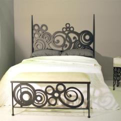 Cama Sofa Forja Modern Sleeper Sectional Cabecero 145 Deco - Dormitorios De Chasol Camas