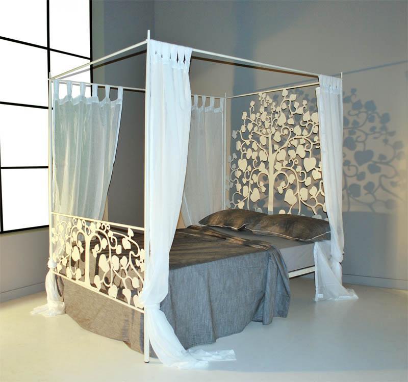 Cama Dosel 145 Fortuna  Dormitorios de Forja Chasol  Camas