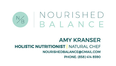 Nourished Balance Branding | Chassie Bell Design