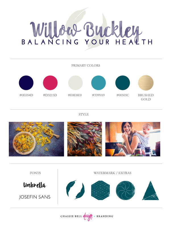 Willow Branding | CB Design
