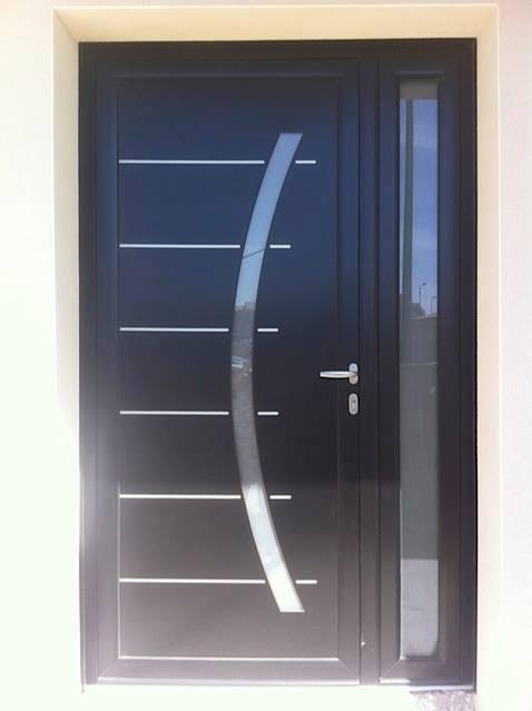 Porte PVC avec Panneau decoratif Belgique