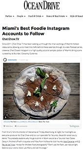 Miami's Best Foodie Instagram Accounts to Follow