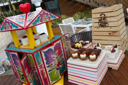 Elaborate Dessert Displays