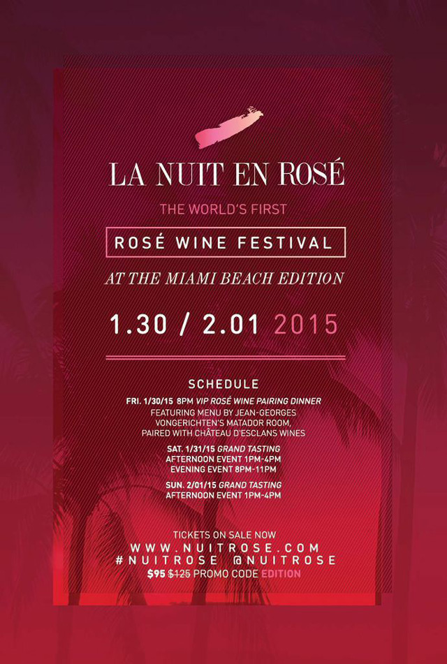 Nuit Rose Wine Festival