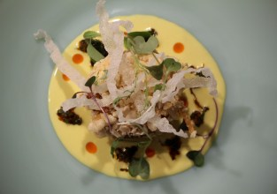 Blue Crab – peruvian aji chili, culantro, lemongrass