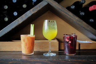 Bloody Mary's, Gin-Spiked White Sangria, Red Sangria