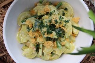 Creste Zucchini Crema, Artichokes, Haricot Verts, Lemon
