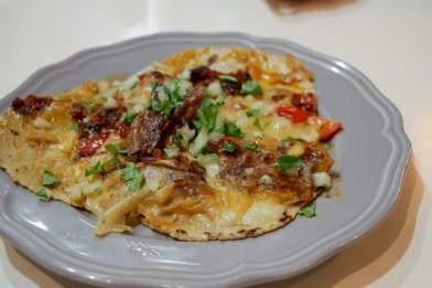 Steak Alhambra – Proper sausage chorizo, Oaxaca cheese, poblano