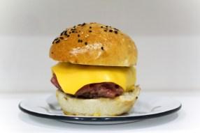 Side of cheeseburger