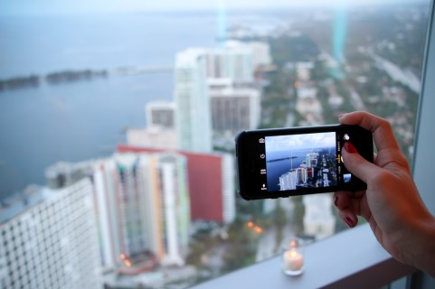 Overlooking all of Brickell