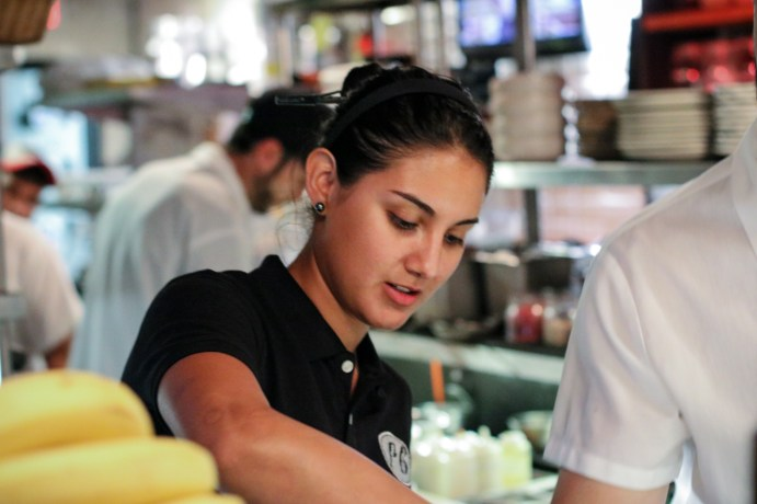 Pastry Chef Maria Orantes