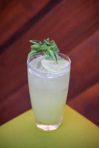 Parkside Sour with Beefeater Gin, Celery, Cucumber, Thai Basil & House Sour