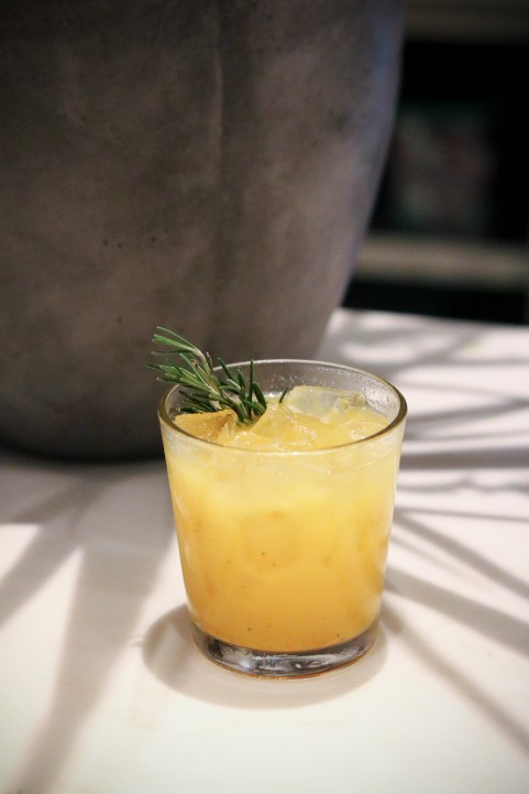 Wynwood Harvest w/ Deaths Door Gin, kumquats, lemon & rosemary