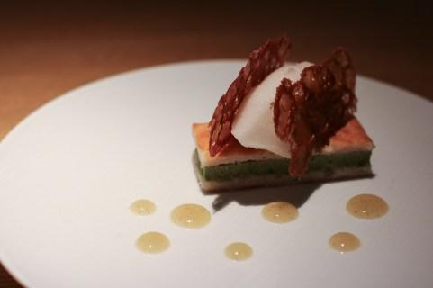 Matcha Dessert w/ Yuzu Sorbet