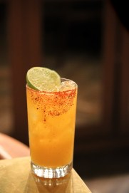 Ninja Cuya with Casamigos Blanco, Passion Fruit, Cayenne, Ancho Reyes