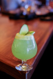 Blazin' Cucumber - Bulldog Gin, Fresh Cucumber, Basil Syrup, Lime