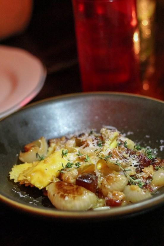Potato Gnocchi w/ brown butter, sage, meyer lemon, pecorino