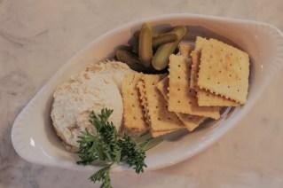 Smoked Fish Dip w/ horseradish, saltines