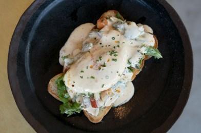 Crabmeat Toast