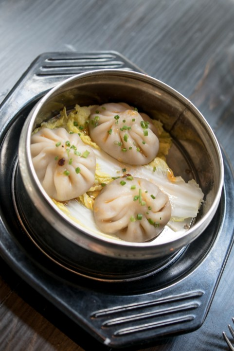 Head Cheese & Blue Crab Soup Dumplings