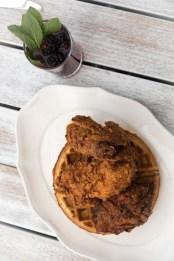 Fried Chicken & Cornbread Waffle