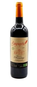 Vignobles Lopez Château de l'Hermitage rouge Biographie vin bio et sans sulfites Bordeaux 2017