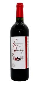 Vignobles Lopez Château de l'Hermitage rouge traditionnel vin bio Bordeaux supérieur