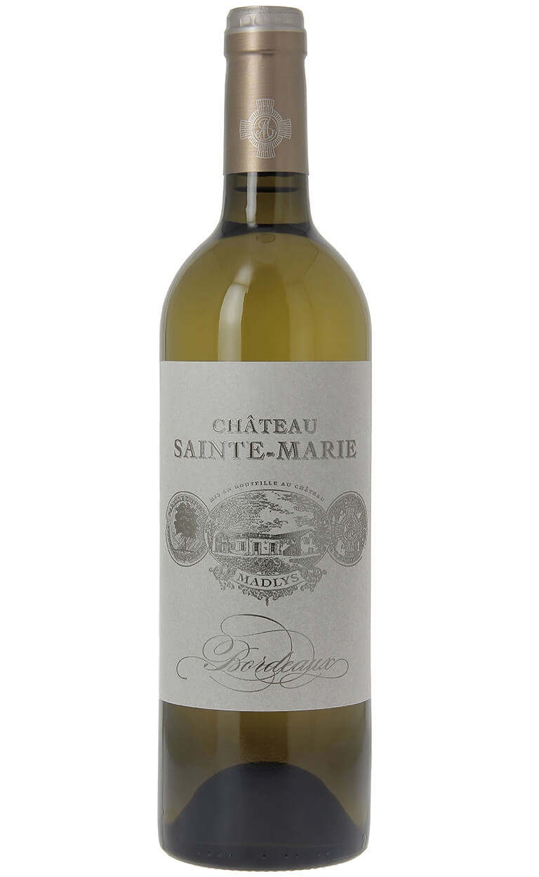 vin blanc d'entre-deux-mers Madlys, chateau sainte-marie