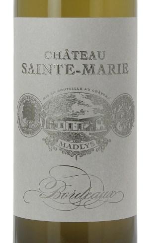 Achat vin entre deux mers, madlys, chateau sainte marie