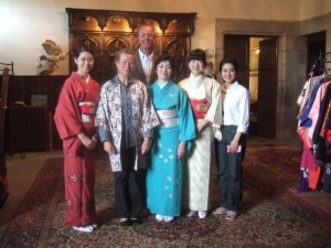 Maï, Isabelle, Alain, Masako, Kaori, Yôko