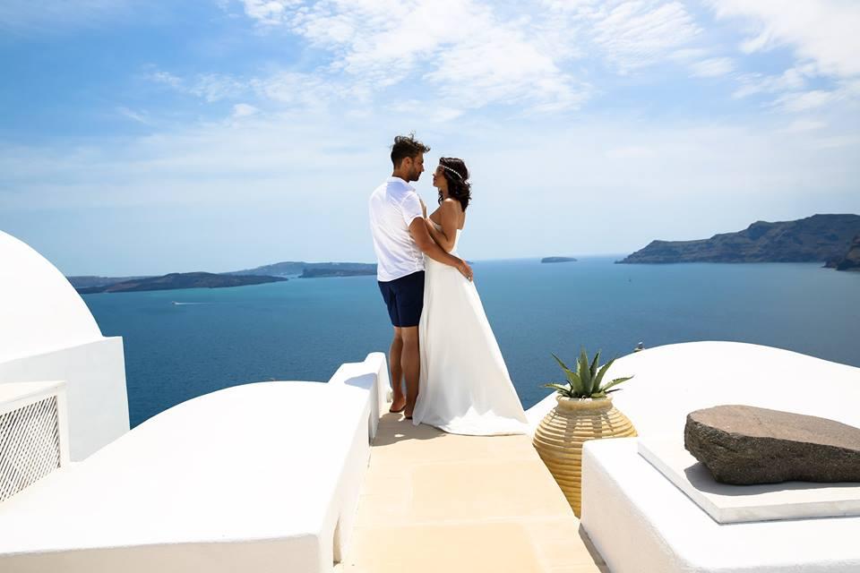 organisation mariage a santorin