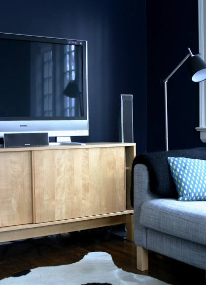 How to hide your TV with paint  Chatelaine