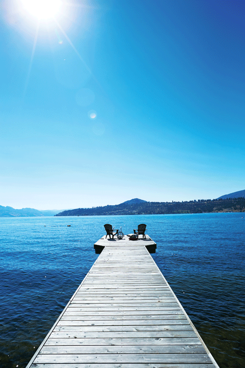 Peek Inside A Contemporary Heritage Home On Okanagan Lake