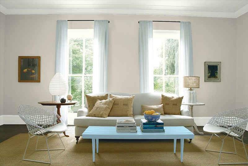 living room wall colours grey blind the best paint designers always use chatelaine has warm undertones perfect for a or bedroom and is one of benjamin moore s most popular greys tip when choosing gray colour