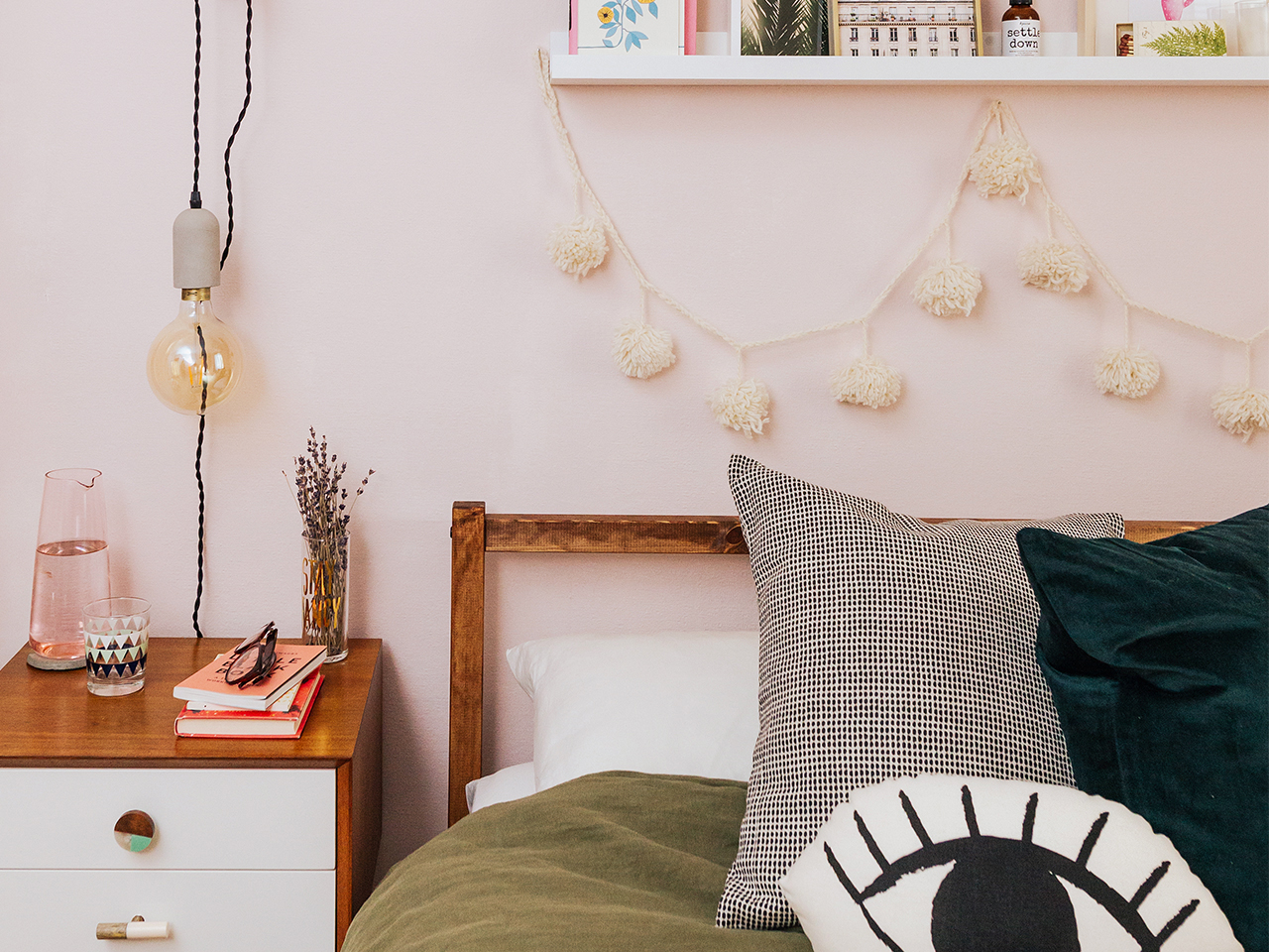 Small Bedroom Makeover How To Update A Bedroom For Under 200