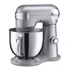 Kitchen Stuff On Sale Design Cabinets 5 Steals From Plus Chatelaine Chrome Grey Cuisinart Precision Master Stand Mixer