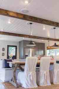 Kitchen Plank Ceiling Inspiration