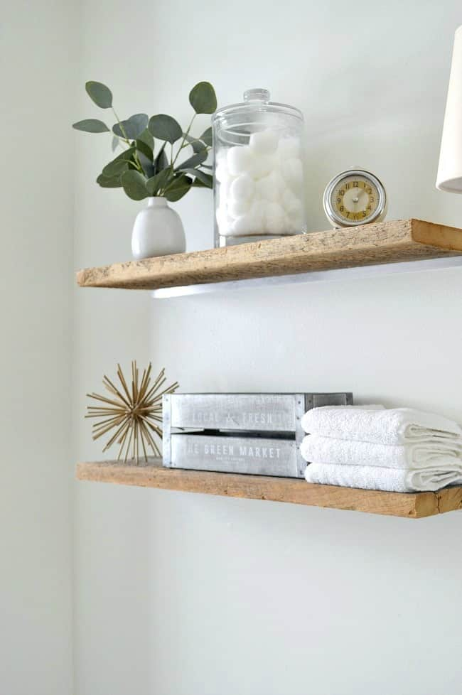 How to Make Easy DIY Floating Shelves  Chatfield Court