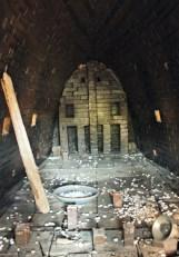 inside the kiln