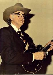 """Bill Monroe, deemed the """"father of Bluegrass."""""""